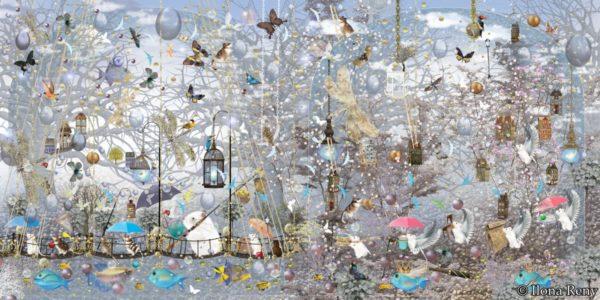 """Poster 10 aus """"Thomas und das Meer"""" von Ilona Reny"""