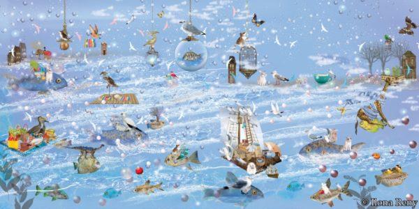 """Poster 14 aus """"Thomas und das Meer"""" von Ilona Reny"""
