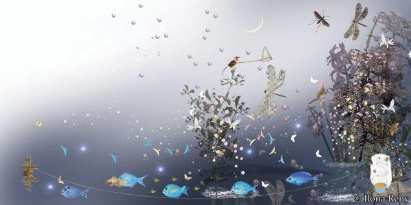 """Poster 06 aus """"Thomas und das Meer"""" von Ilona Reny"""