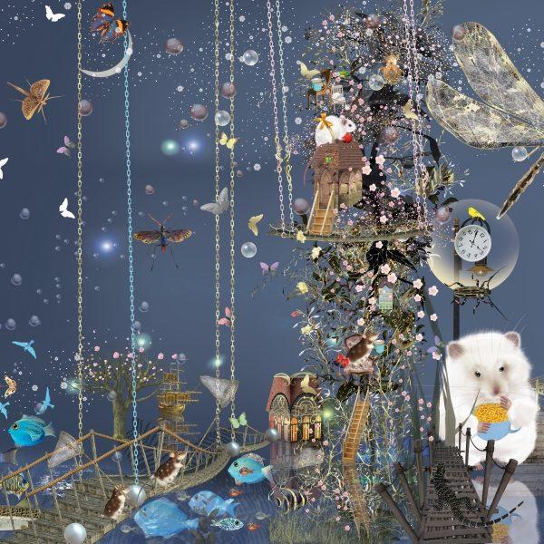 """Poster 07 aus """"Thomas und das Meer"""" von Ilona Reny"""