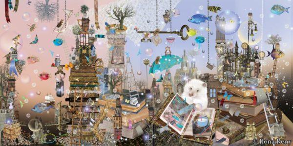 """Poster 08 aus """"Thomas und das Meer"""" von Ilona Reny"""