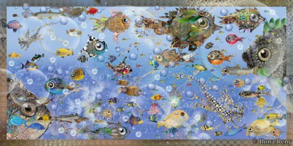 Poster 03 Der Aquariendrache von Ilona Reny