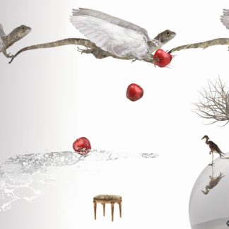 "Postkarte ""Drachen III"" - Ilona Reny"