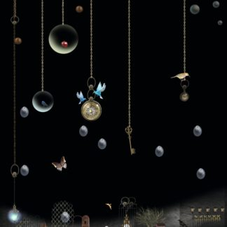 """Postkarte """"Nächtlicher Regen I"""" Art.Nr.: P 05"""