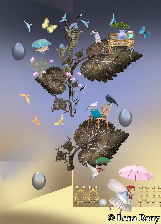 "Postkarte ""Gartenpracht"" Art.Nr.: P23"