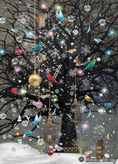 """Postkarte """"Baum der leuchtenden Träume"""" Art.Nr.: P22"""