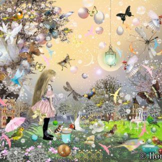 """Postkarte """"Eine Wiese voller Schmetterlinge"""" Art.Nr.: P35"""