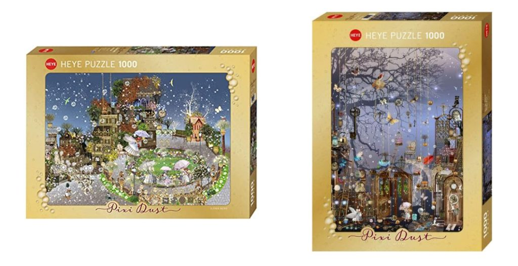"2 Puzzles von Ilona Reny ""Magic Keys"" und ""Fairy Park"""